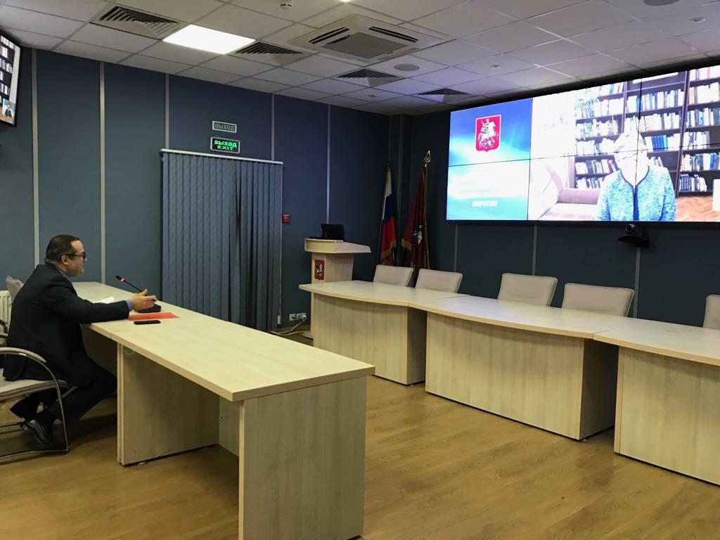 Первую встречу провели в онлайн-приемной префекта Новой Москвы Дмитрия Набокина