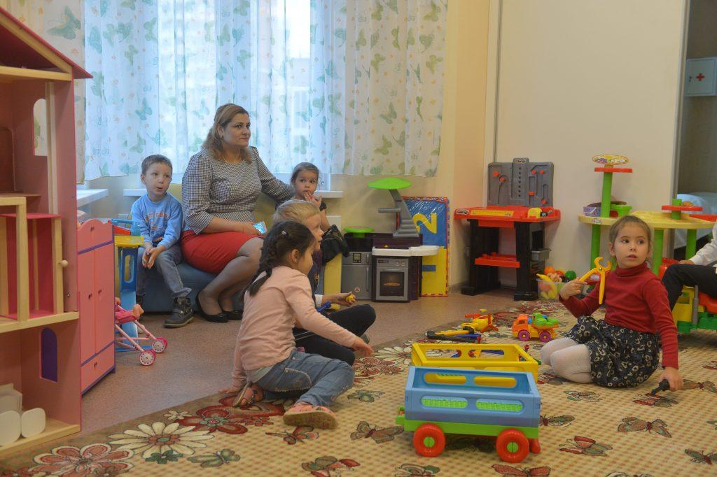 Строительство детского сада завершили в Коммунарке