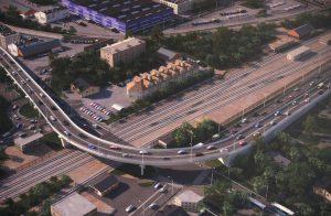 Помимо железной дороги, жители пользуются автотраспортом и метро. Фото: Владимир Новиков
