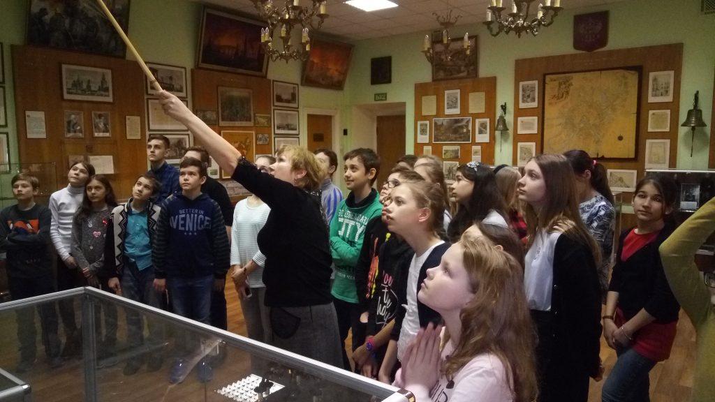 Экскурсию в Музей пожарной охраны подарили призерам Всероссийской олимпиады школьников