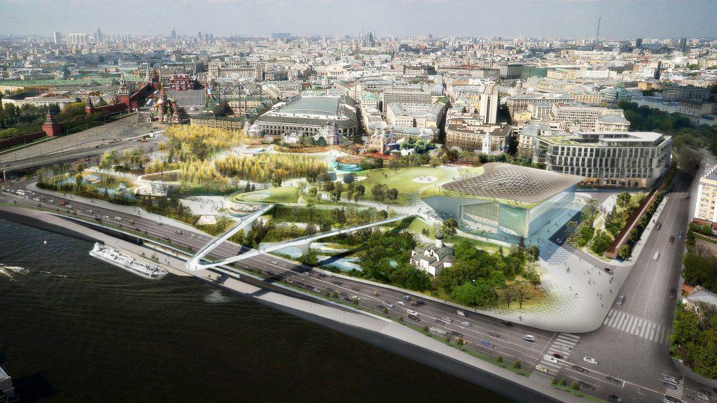 ЮНЕСКО оценило проект парка «Зарядье» в центре Москвы