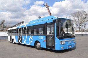 Финский электробус начали испытывать в Москве