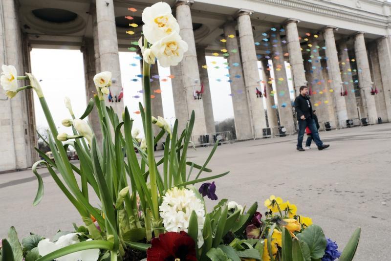 Майские праздники в Москве будут теплыми