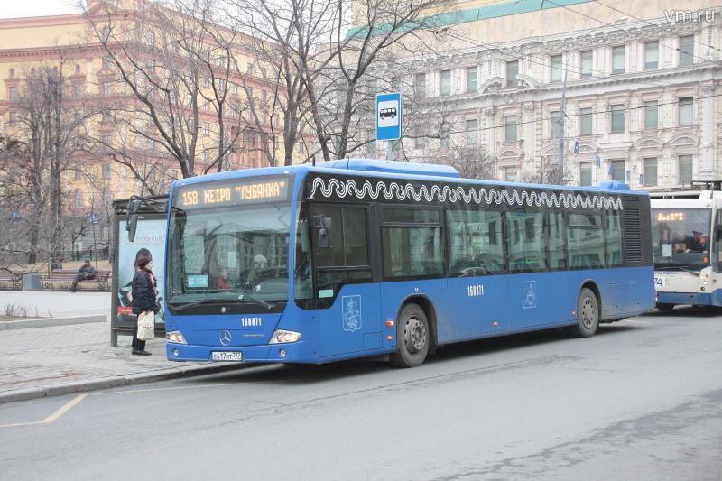 Маршрут автобуса №804 в районе Мосрентгена частично изменен