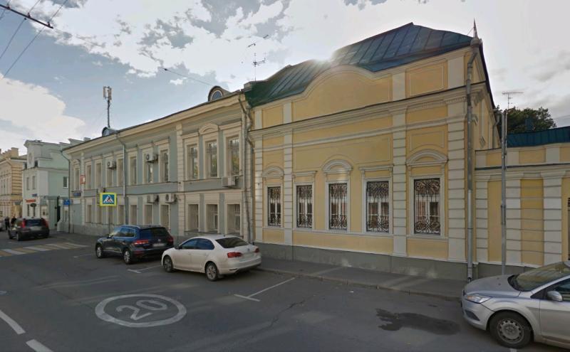 В центре Москве отреставрируют усадьбу