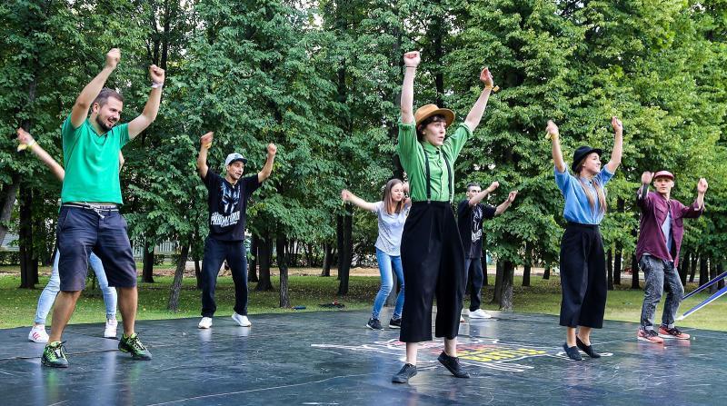 Жители Москвы определят площадки для тренировок на открытом воздухе