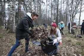 Уборку провели 22 и 23 апреля Фото: Виктор Хабаров