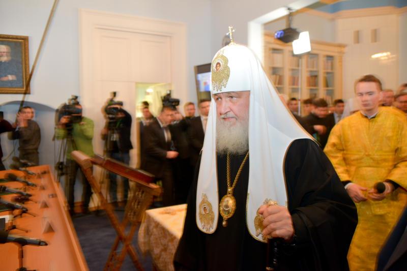 Патриарх Кирилл совершит объезд московских храмов