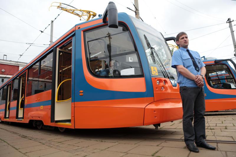 Трамваи отправились в путь по Москве. Фото: архив, «Вечерняя Москва»