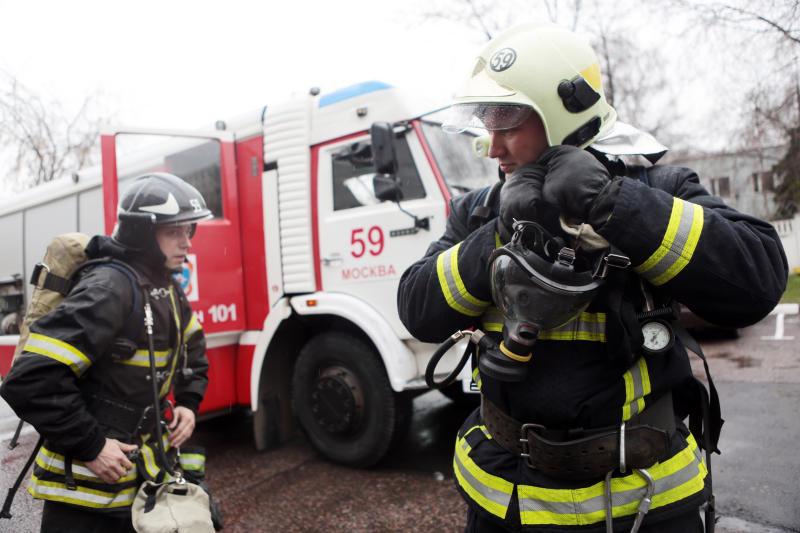 В Москве потушили возгорание возле территории аэропорта Внуково