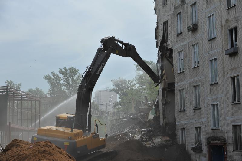 Госдума рассмотрит законопроект о сносе пятиэтажек Москвы 20 апреля