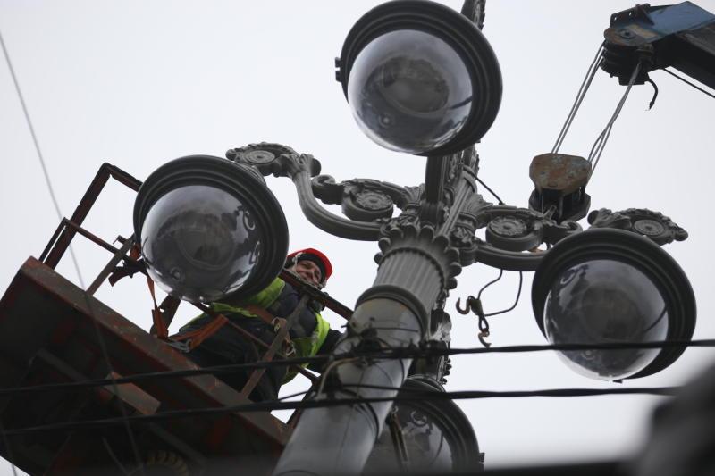 Новые фонари установят в деревне Пахорка