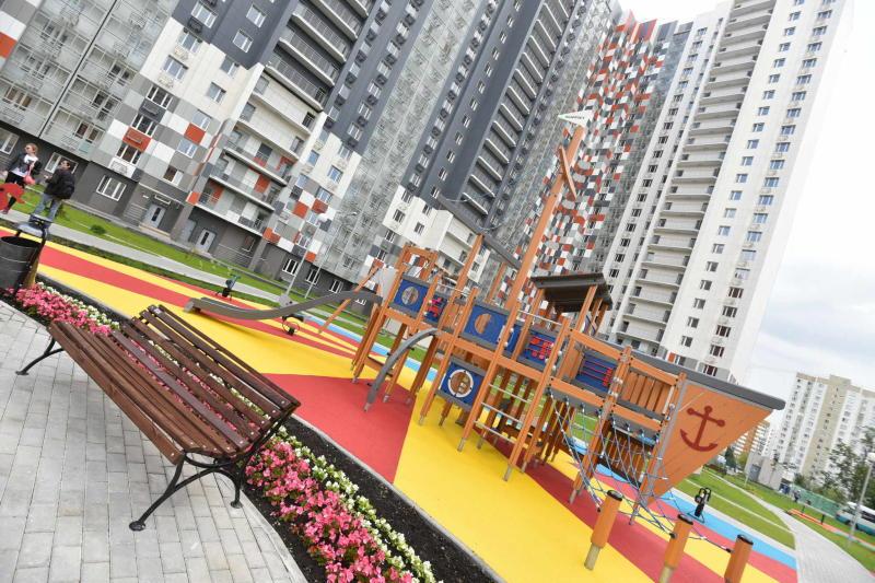 Свыше 130 тысяч «квадратов» жилья ввели в первом квартале в Новой Москве