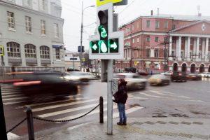 В Москве начали тестировать «вызывную» фазу светофора