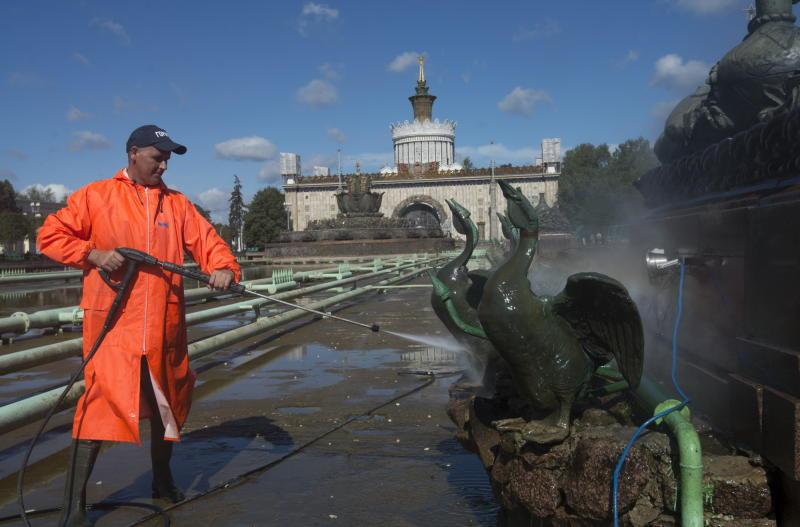 Реставрация исторических фонтанов на ВДНХ начнется летом