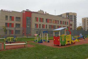 Новый детский сад в Сосенском сможет принять маломобильных детей. Фото: Александр Казаков, «Вечерняя Москва»