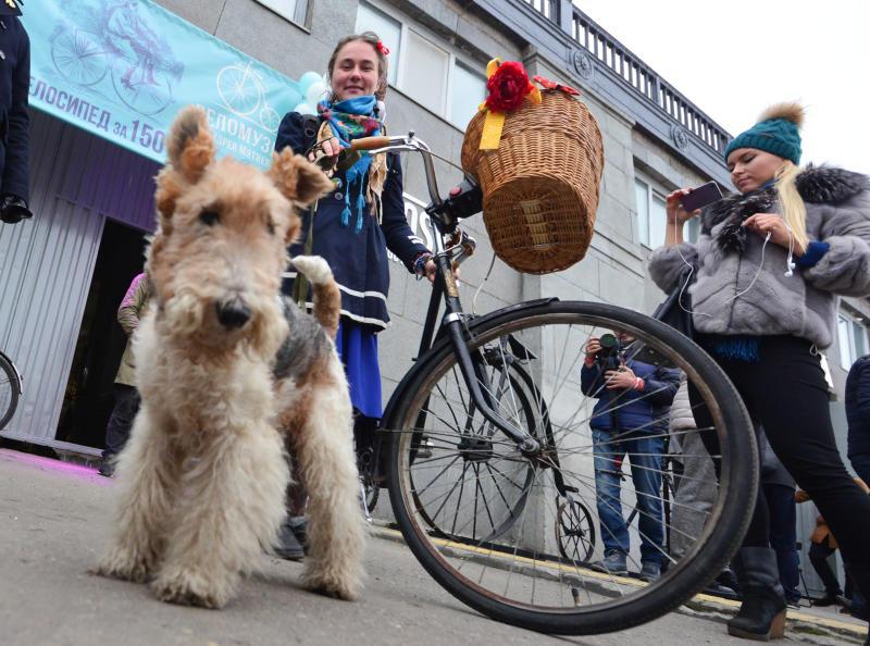 Официальный велосезон открылся в городе