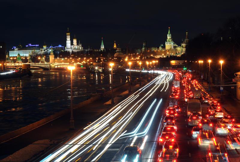 Пробка на дорогах Москвы достигла 9 баллов
