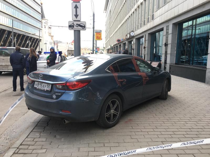 Следователи разыскивают стрелявшего в центре Москвы