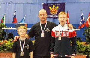 Слева направо: Степан Бахмарин, Максим Бахарев, Антон Лисицин. Фото: предоставил Максим Бахарев