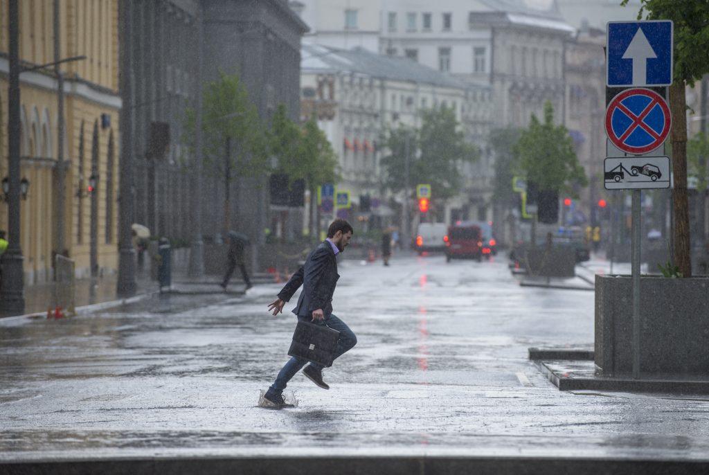 """Дождливая неделя ожидает москвчией. Фото: """"Вечерняя Москва"""""""
