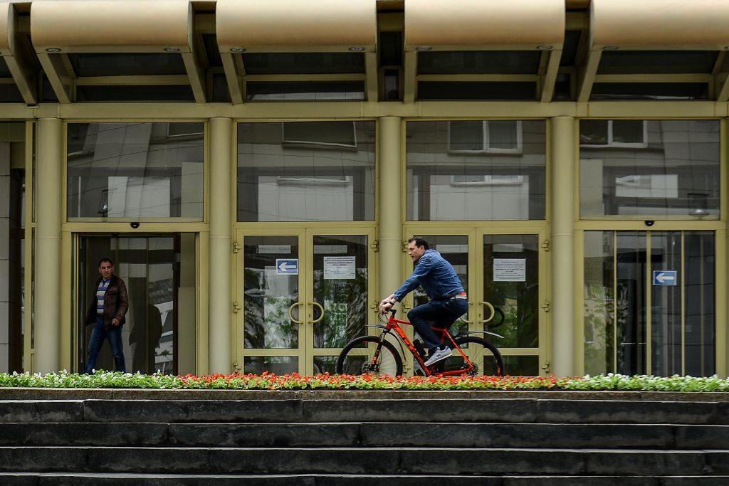 Москвичи предпочли велосипеды автомобилям