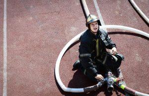 Пожарные ликвидировали возгорание в сауне в центре Москвы