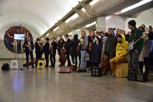 """Стартовало голосование за лучшего исполнителя музыки в метро. Фото: """"Вечерняя Москва"""""""