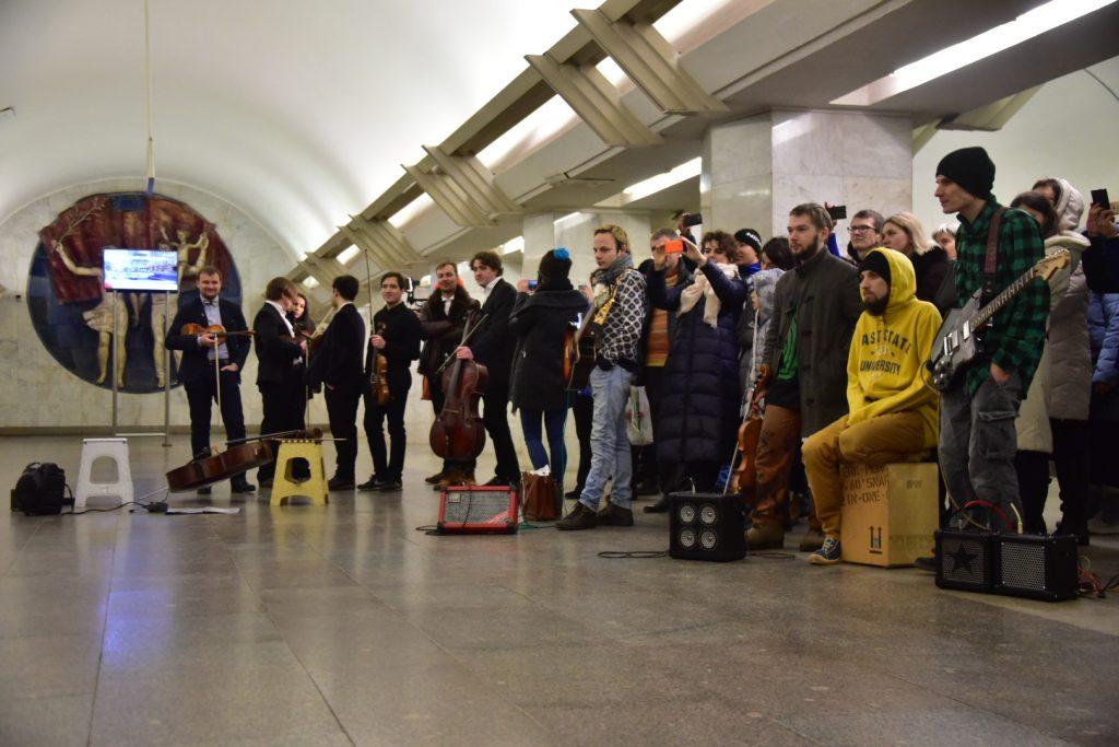 Стартовало голосование за лучшего исполнителя музыки в метро