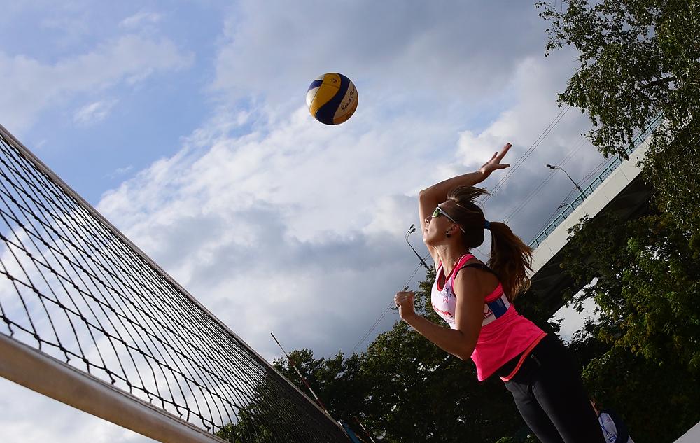 Поселение Киевский получит новую волейбольную площадку