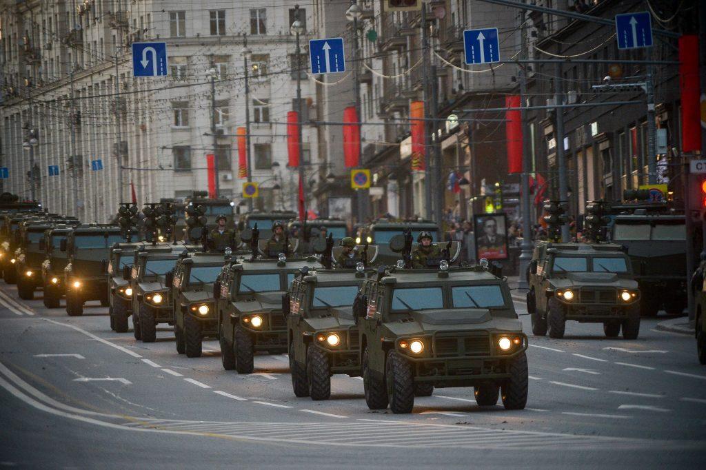 Репетиция Парада: 3 и 7 мая в центре Москвы снова перекроют движение