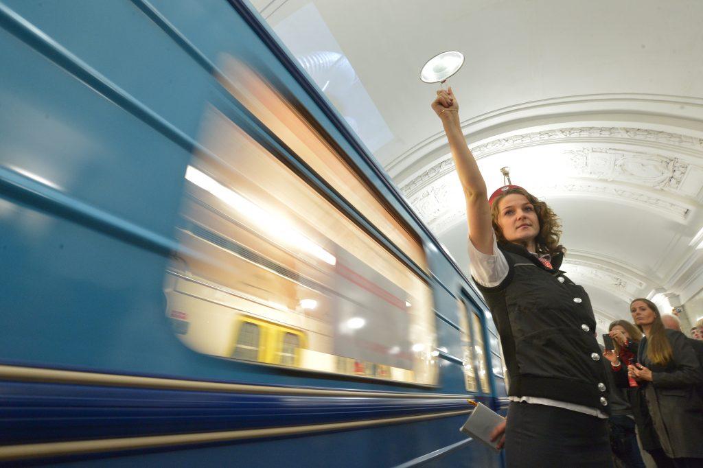 Парад поездов запустят ко «дню рождения» московского метро