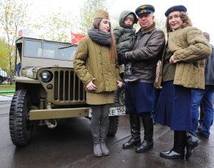 День Победы 2017 года оказался самым холодным в истории Москвы