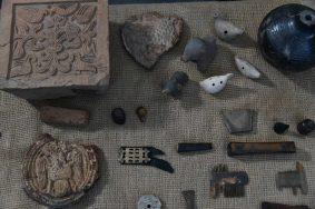 Археологические находки у Китайгородской стены покажут публике в Москве
