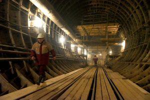 """В выходные дни закроют вестибюли трех станций метро. Фото: """"Вечерняя Москва"""""""