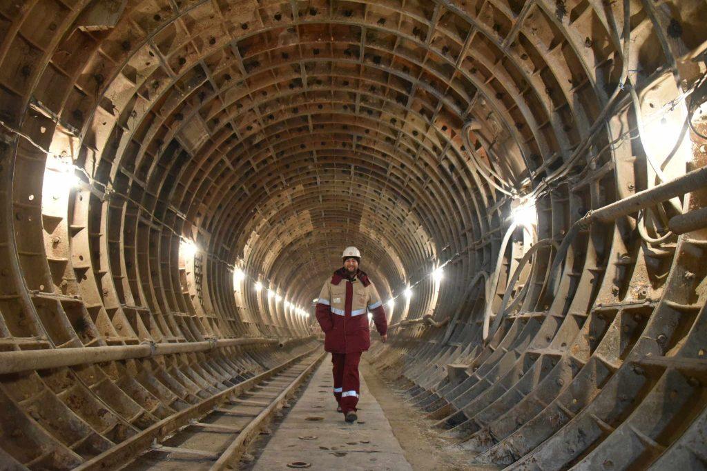 Завершено строительство двух тоннелей между станциями метро «Говорово» и «Солнцево»