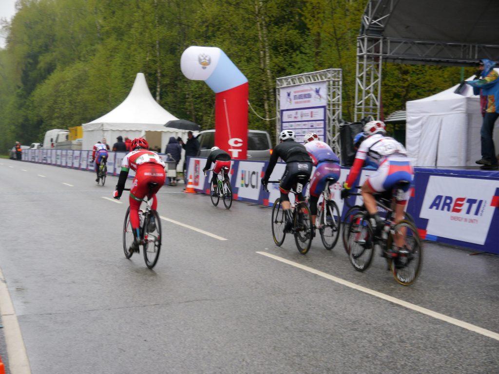 Международная гонка «Пять колец Москвы» прошла в Кленовском
