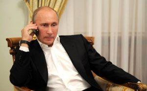 Состоялся первый телефонный разговор Владимира Путина и Эммануэля Макрона