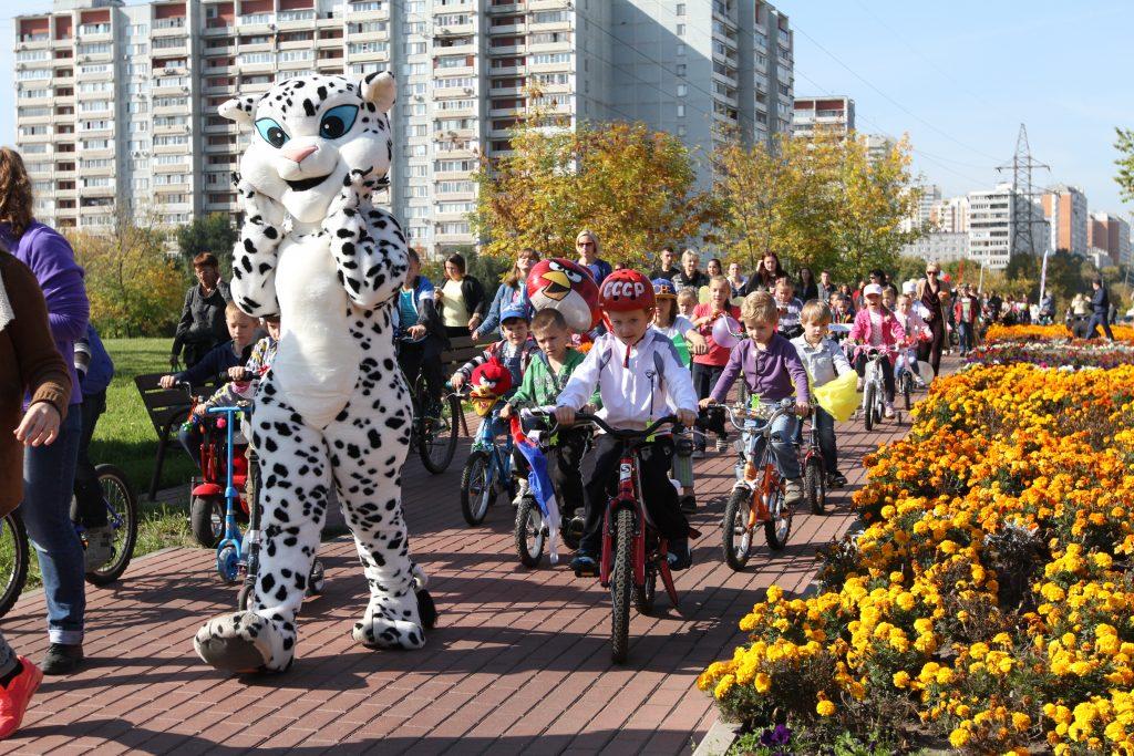 Маленьких жителей Новой Москвы приглашают на соревнования по велоспорту в Сосенское