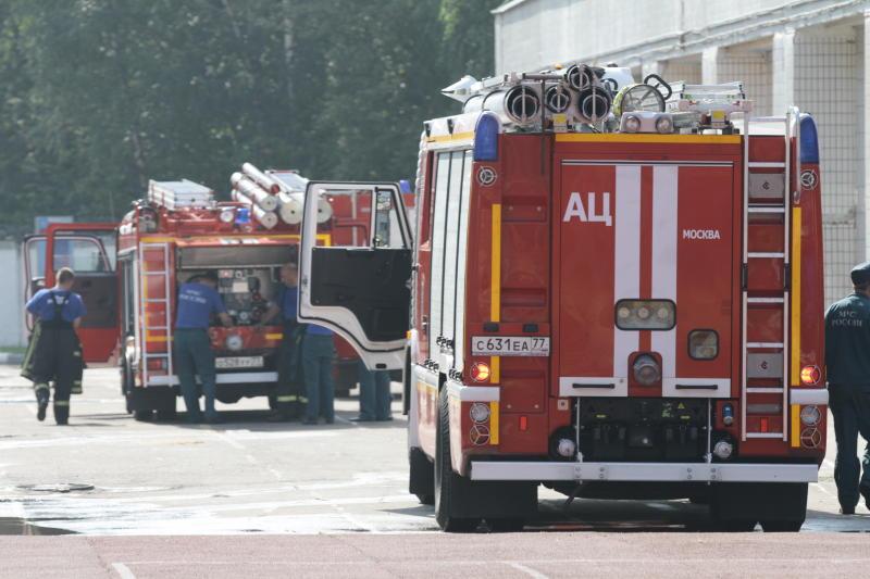 Пожарным не до сна. Фото: архив, «Вечерняя Москва»