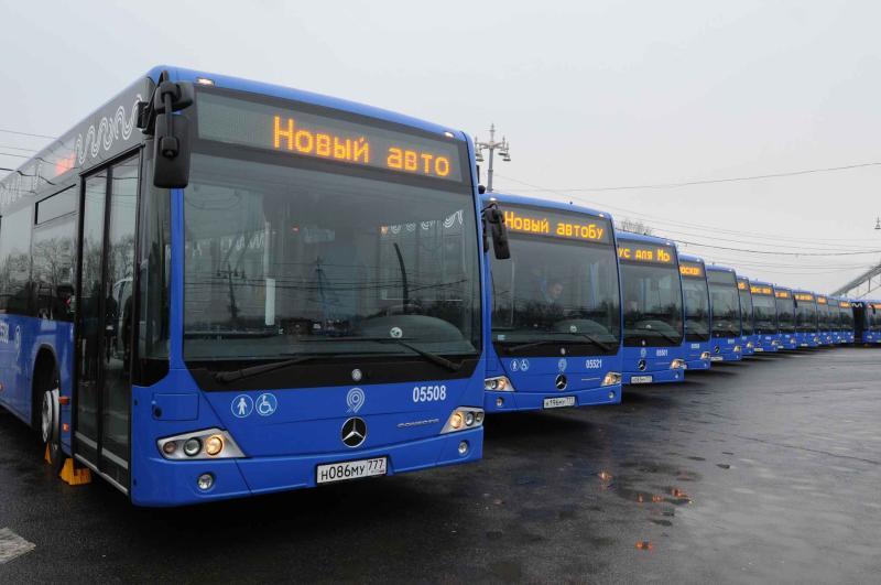 Новые парковочные места для экскурсионных автобусов оборудуют во Внуковском