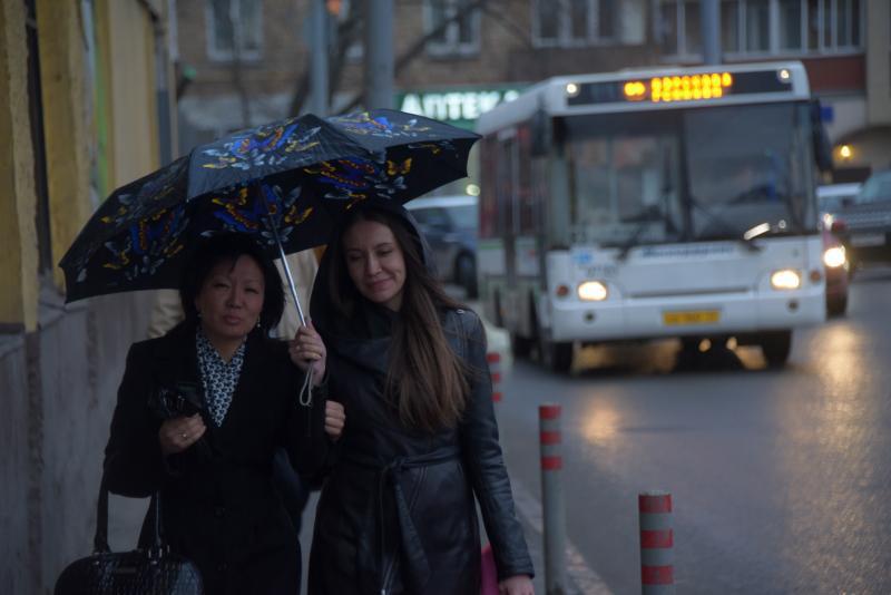 На выходные синоптики в Москве прогнозируют дождь