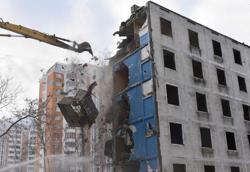 Председатель Мосгордумы поддержал городской проект о реновации
