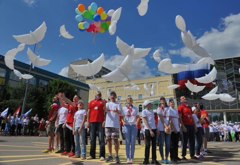 Московские школьники вновь отдохнут по программе «Московская смена»