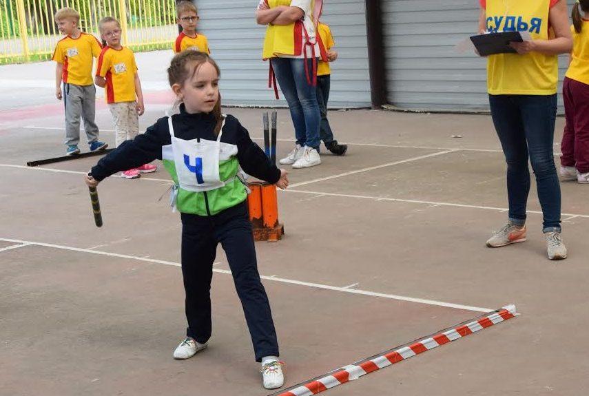 Дошкольники из Новой Москвы заняли третье в место в городошных соревнованиях
