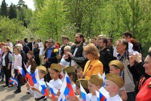 Дети подготовили танцы и песни для торжества. Фото предоставлено РОО «Объединения многодетных семей города Москвы»