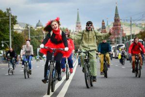 """Всероссийский велопарад проведут в последнее майское воскресенье. Фото: """"Вечерняя Москва"""""""
