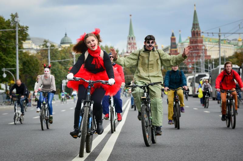 Велосипедисты смогут провезти велосипеды бесплатно 28 мая