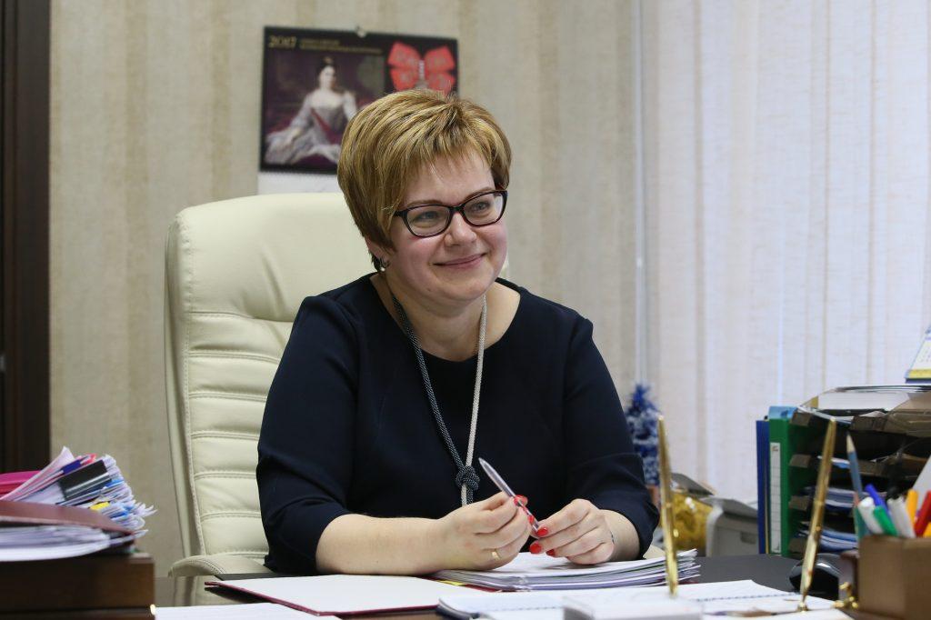 Краснопахорское. 24 июня 2017 года. Глава администрации поселения Наталья Парфенова. Фото: Виктор Хабаров