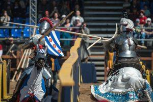 В парке будут проходить рыцарские бои и представления на воде, установят декорации, трибуны и крепости. Фото: архив, «Вечерняя Москва»